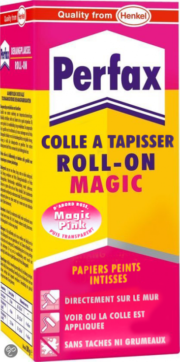 Perfax roll-on magic colle à tapisser 200g